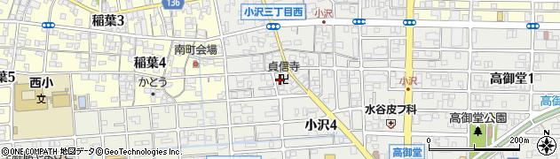 貞信寺周辺の地図