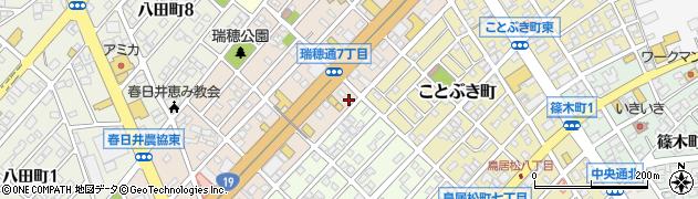 牛角周辺の地図