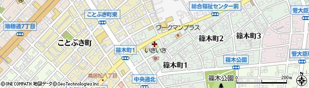 サガミ 春日井篠木店周辺の地図