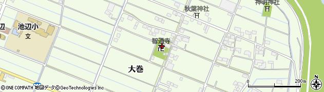智通寺周辺の地図