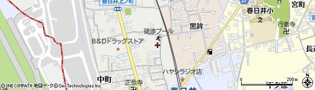 愛知県春日井市春日井上ノ町(黒鉾)周辺の地図