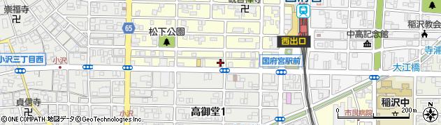 オレンジ周辺の地図