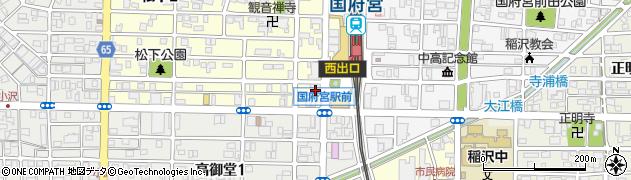 ワンワン(One1)周辺の地図