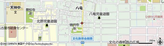 愛知県北名古屋市法成寺(未申)周辺の地図