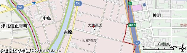 愛知県一宮市丹陽町五日市場(定福寺)周辺の地図