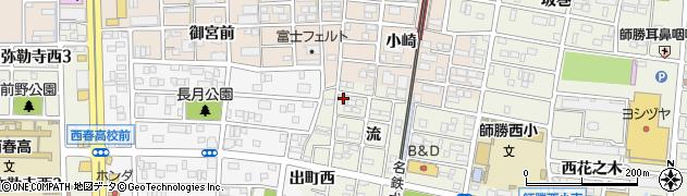 豆たつ周辺の地図