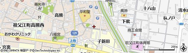 上喜周辺の地図
