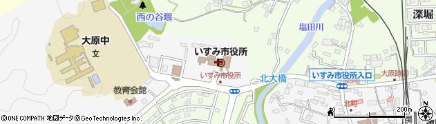 千葉県いすみ市周辺の地図