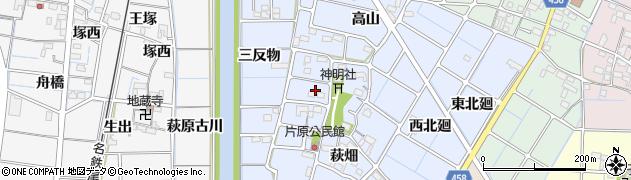 愛知県稲沢市片原一色町(吹上)周辺の地図