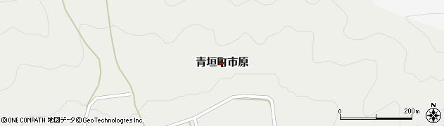 兵庫県丹波市青垣町市原周辺の地図