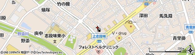愛知県名古屋市守山区上志段味(羽根)周辺の地図