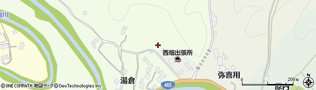 千葉県大多喜町(夷隅郡)湯倉周辺の地図