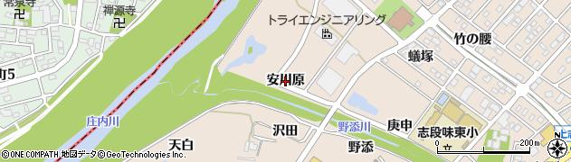 愛知県名古屋市守山区上志段味(安川原)周辺の地図