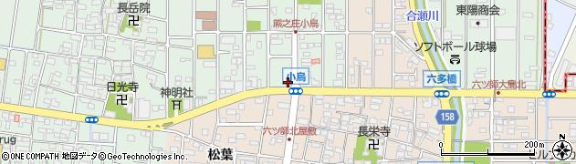 北名古屋師勝食堂周辺の地図
