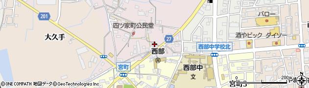 メモリー周辺の地図