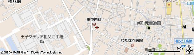 愛知県稲沢市祖父江町祖父江(北川原)周辺の地図