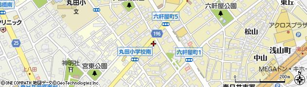 喫茶ごくう周辺の地図