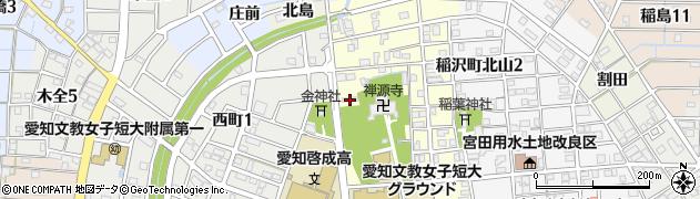 北山共同住宅周辺の地図