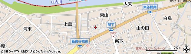 愛知県名古屋市守山区上志段味(東山)周辺の地図
