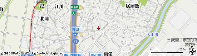 かねとく周辺の地図