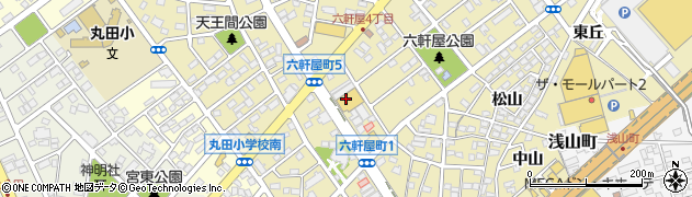 丸忠寿司 丸忠ナフコ春日井店周辺の地図