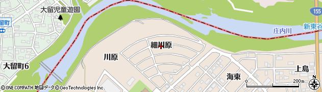 愛知県名古屋市守山区上志段味(細川原)周辺の地図