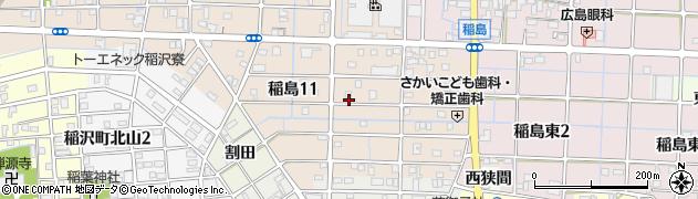 国府宮ジェラート ユーグレナ周辺の地図