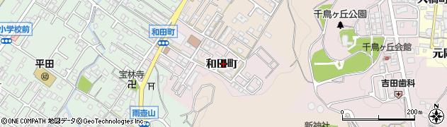 滋賀県彦根市和田町周辺の地図