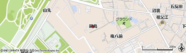 愛知県稲沢市祖父江町祖父江(鍋島)周辺の地図
