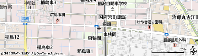JERRYS・UNO 稲沢店周辺の地図