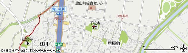 千松寺周辺の地図