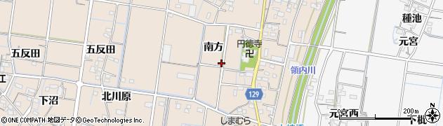 愛知県稲沢市祖父江町祖父江(南方)周辺の地図