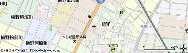 愛知県稲沢市清水町(郷西)周辺の地図
