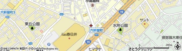 ラウンジLOVERS周辺の地図
