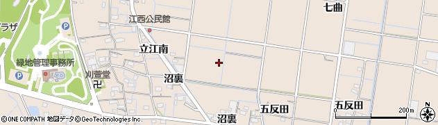 愛知県稲沢市祖父江町祖父江(下沼)周辺の地図