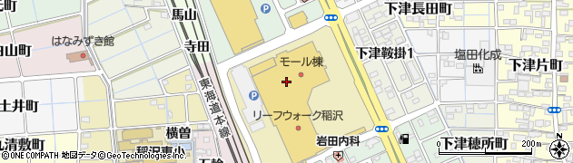 丸忠 回転寿司ABRIリーフウォーク稲沢店周辺の地図