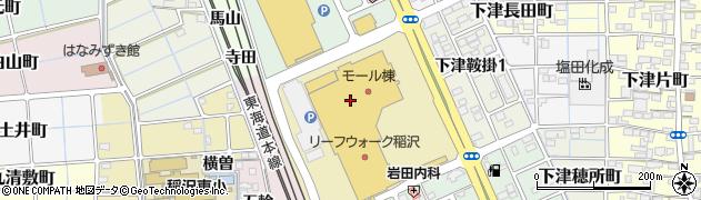 五穀稲沢店周辺の地図