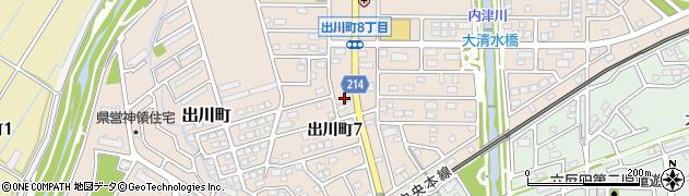 ほっかほっか亭 春日井出川店周辺の地図