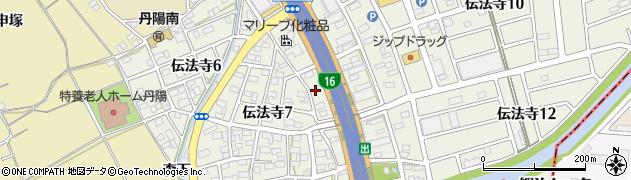 桜鮨周辺の地図