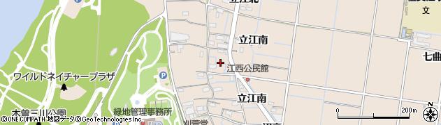 愛知県稲沢市祖父江町祖父江(江西)周辺の地図