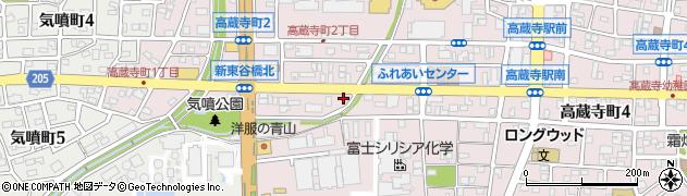 Nishida周辺の地図