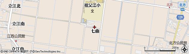 愛知県稲沢市祖父江町祖父江(城起)周辺の地図