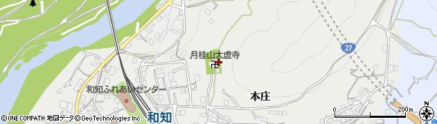 太虚寺周辺の地図