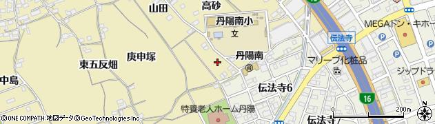 愛知県一宮市丹陽町九日市場(新猫塚)周辺の地図