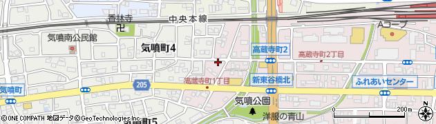 フランセ周辺の地図