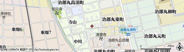 愛知県稲沢市治郎丸西町周辺の地図