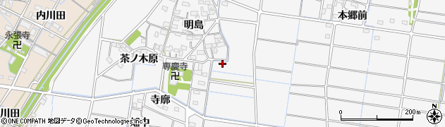 愛知県稲沢市祖父江町山崎(平口)周辺の地図