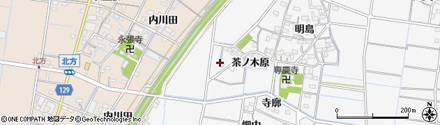 愛知県稲沢市祖父江町山崎(鉄砲)周辺の地図