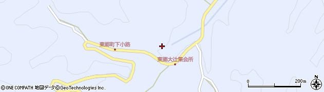 愛知県豊田市東郷町(下小路)周辺の地図