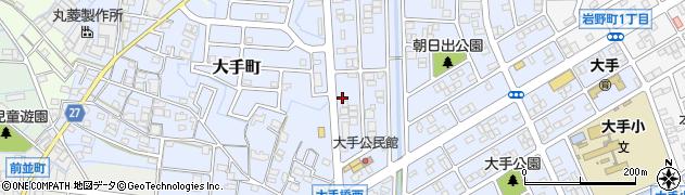 わが家周辺の地図